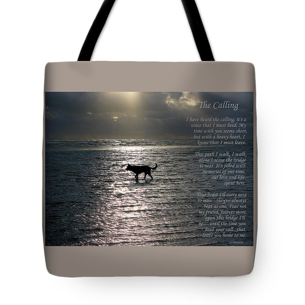 The Calling  Version Two Tote Bag