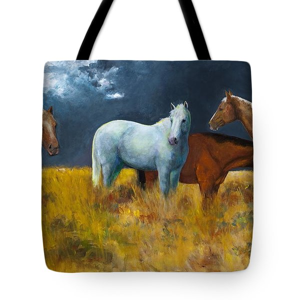 The Calm After The Storm Tote Bag by Frances Marino