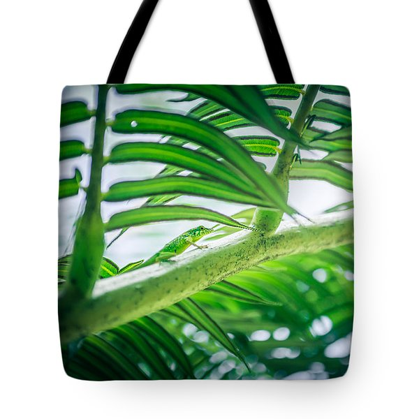 The Camouflaged Tote Bag