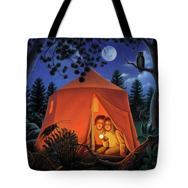 The Campout Tote Bag