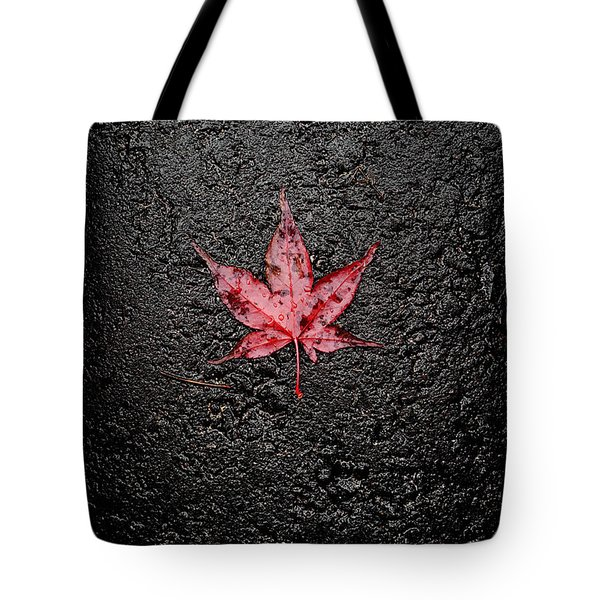 The Canadian Flag Of The Streets Tote Bag