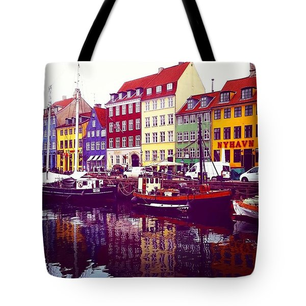 The Canal Copenhagen  Tote Bag