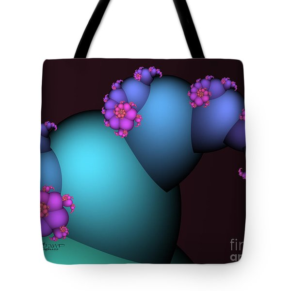 The Candy Plant Tote Bag by Jutta Maria Pusl