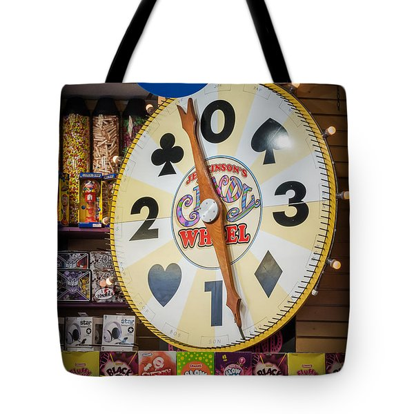 The Candy Wheel Point Pleasant Boardwalk Tote Bag