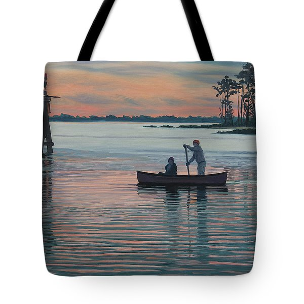 The Canoers Tote Bag