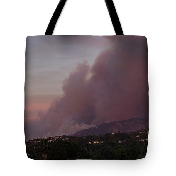 The Canyon Fire Tote Bag by Angela A Stanton