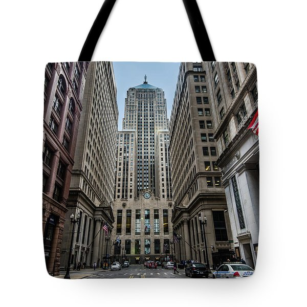 The Canyon In The Financial District Tote Bag