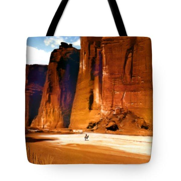 The Canyon Tote Bag by Paul Sachtleben