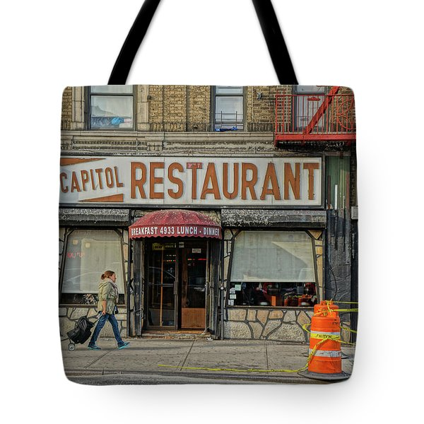 The Capitol Tote Bag by Cole Thompson