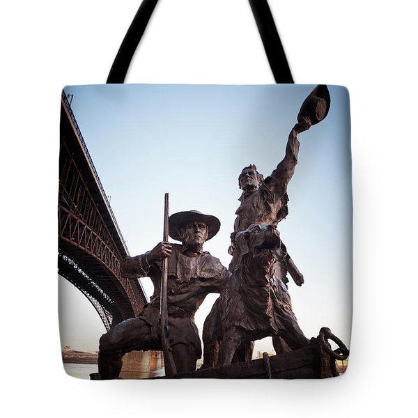 Tote Bag featuring the photograph The Captain Returns by David Coblitz