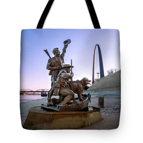 The Captain Returns With Arch Tote Bag