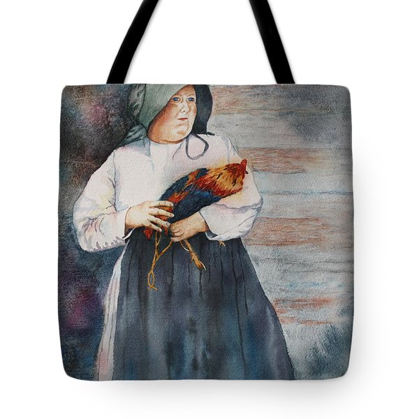 Tote Bag featuring the painting The Capture Of Beauregard by Patsy Sharpe