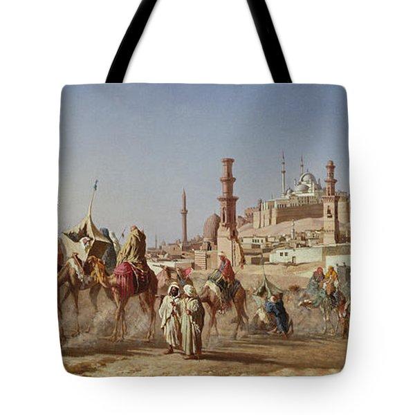 The Caravan Tote Bag