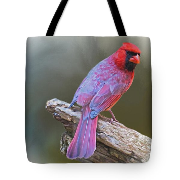 The Cardinal Tote Bag by Suzanne Handel