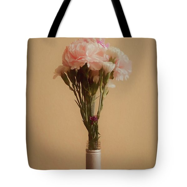 The Carnations Tote Bag by Ernie Echols