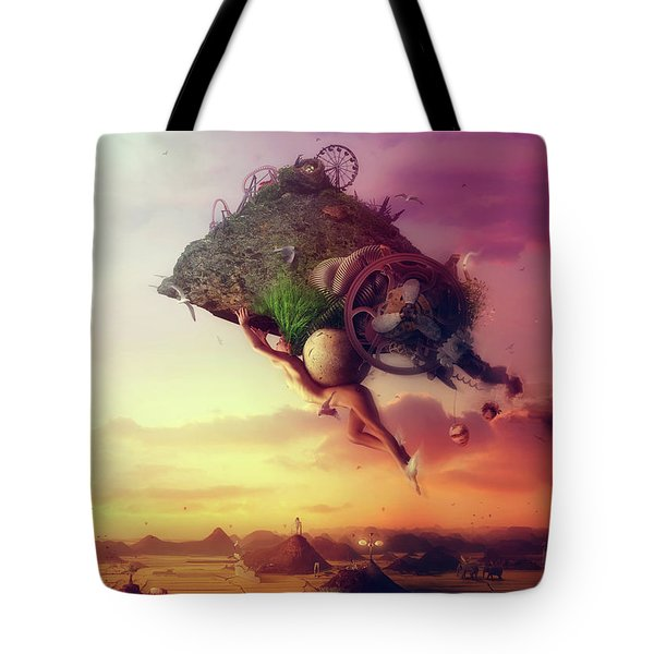 The Carnival Is Over Tote Bag
