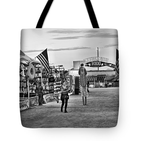 The Carnival Street Tote Bag