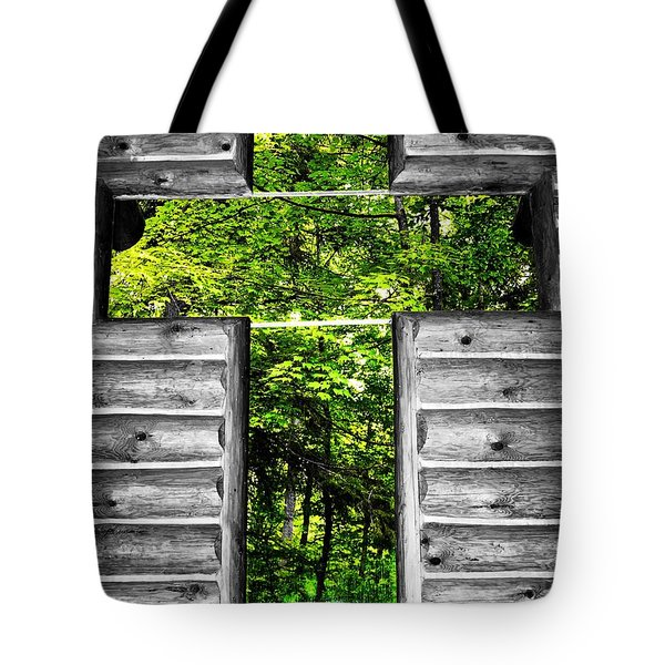 The Carpenters Cross Tote Bag