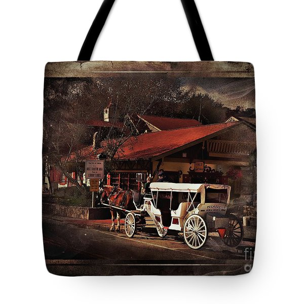 The Carriage Tote Bag