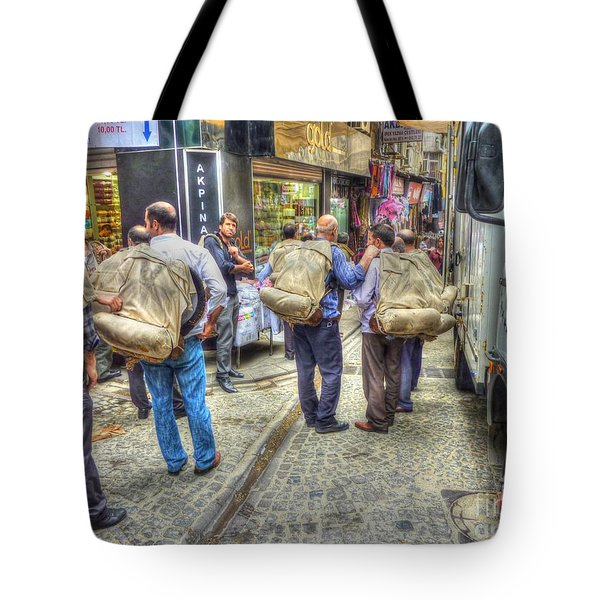 The Carriers  Tote Bag by Michael Garyet