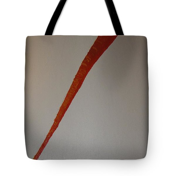 Tote Bag featuring the painting The Carrot by Barbara Yearty