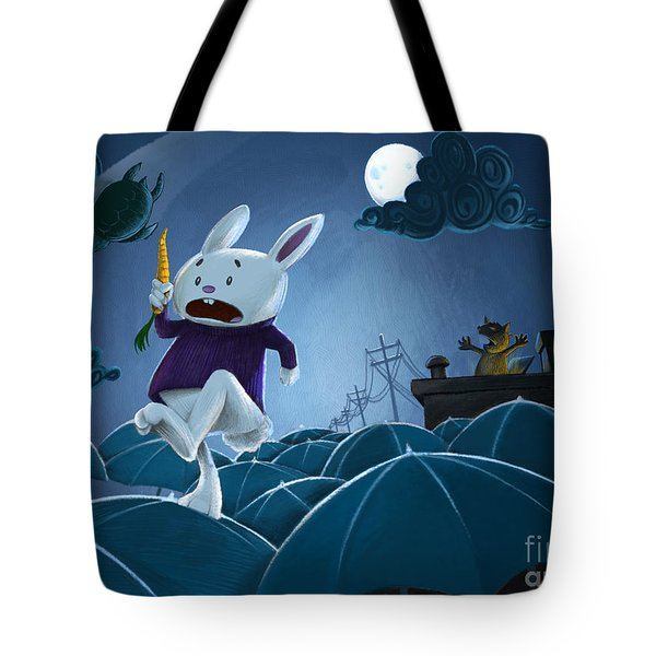 The Carrot Thief Tote Bag