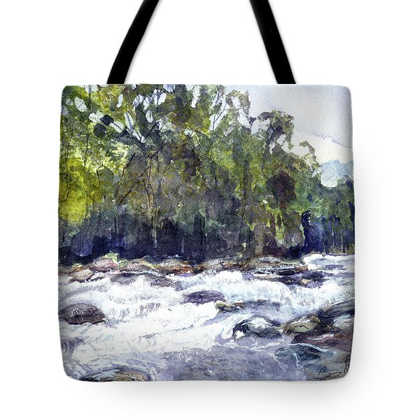The Cascades Tote Bag by Barry Jones