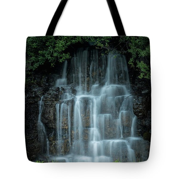 The Cascading Waterfall Tote Bag