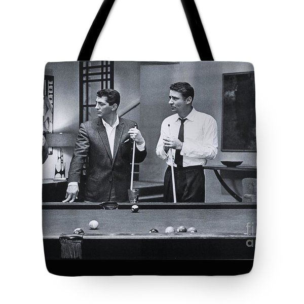 The Cast Of Ocean's 11 Tote Bag