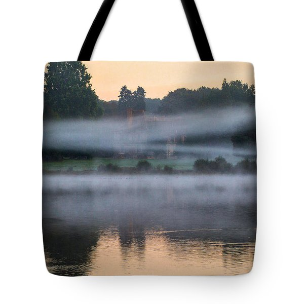 The Castle In The Myst Tote Bag