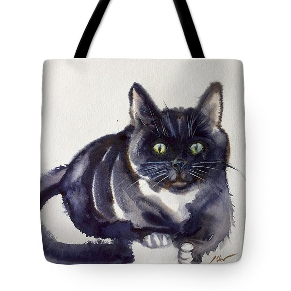 The Cat 8 Tote Bag