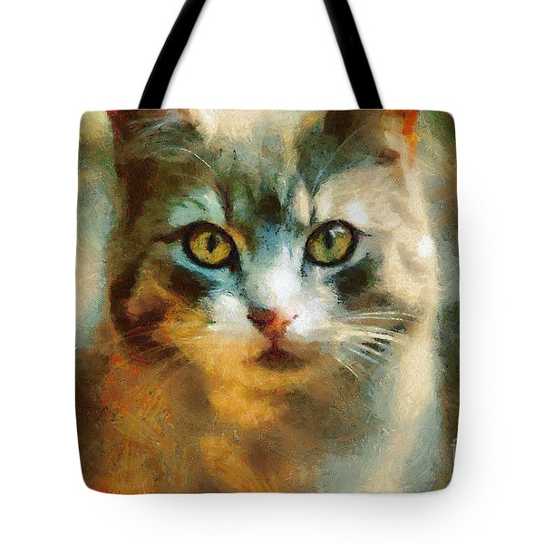 The Cat Eyes Tote Bag