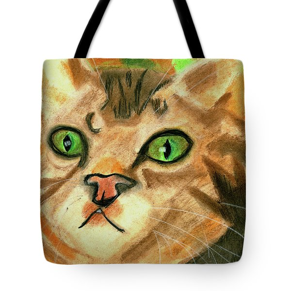 The Cat Face Tote Bag