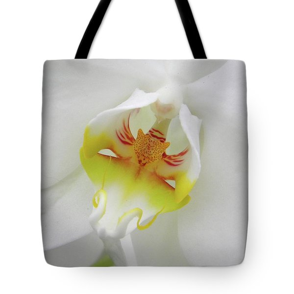 The Cat Side Of An Orchid Tote Bag