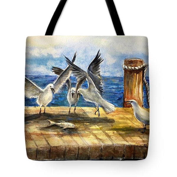 The Catch Is Mine Tote Bag