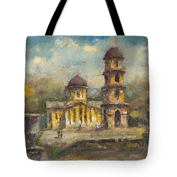 The Cathedral. Chisinau Tote Bag