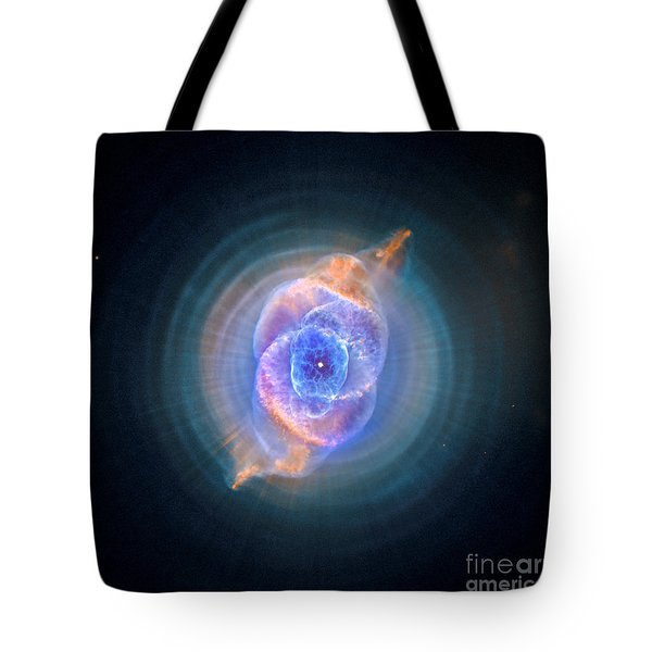 The Cat's Eye Nebula Tote Bag