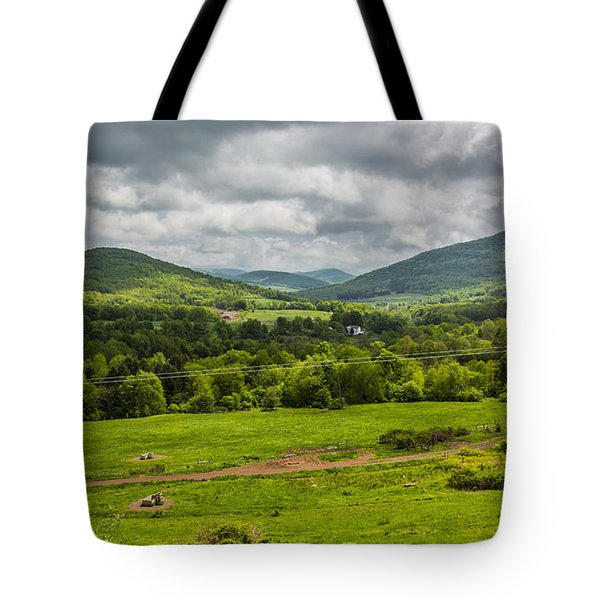 Tote Bag featuring the photograph The Catskill Mountains by Paula Porterfield-Izzo