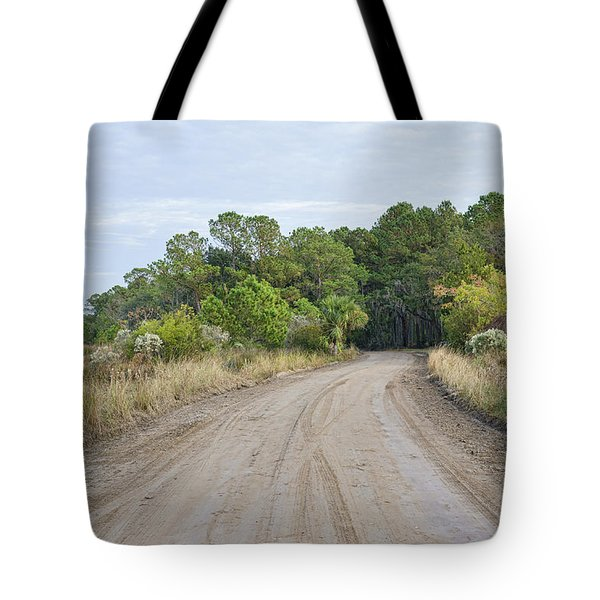 The Causway On Chisolm Island Tote Bag