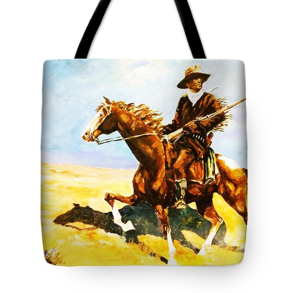 The Cavalry Scout Tote Bag by Al Brown