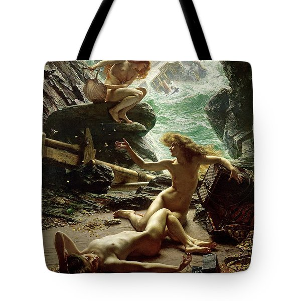 The Cave Of The Storm Nymphs Tote Bag