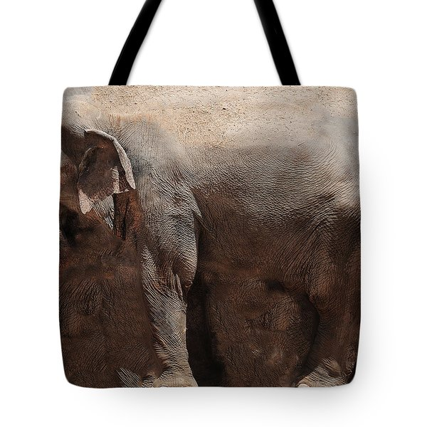 Tote Bag featuring the digital art The Cave by Robert Orinski