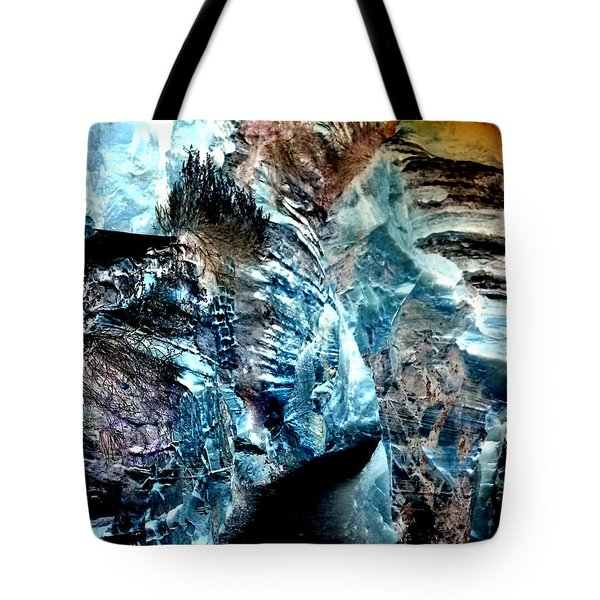 The Caves Of Q'th Tote Bag