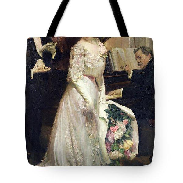 The Celebrated Tote Bag by Joseph Marius Avy