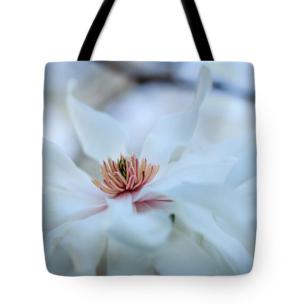 The Center Of Beauty Tote Bag