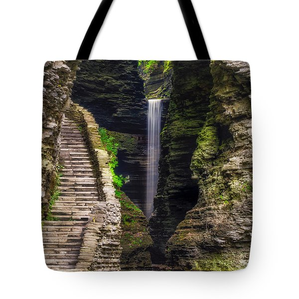 The Central Cascade Tote Bag by Mark Papke