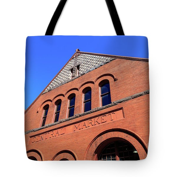 The Central Market Tote Bag