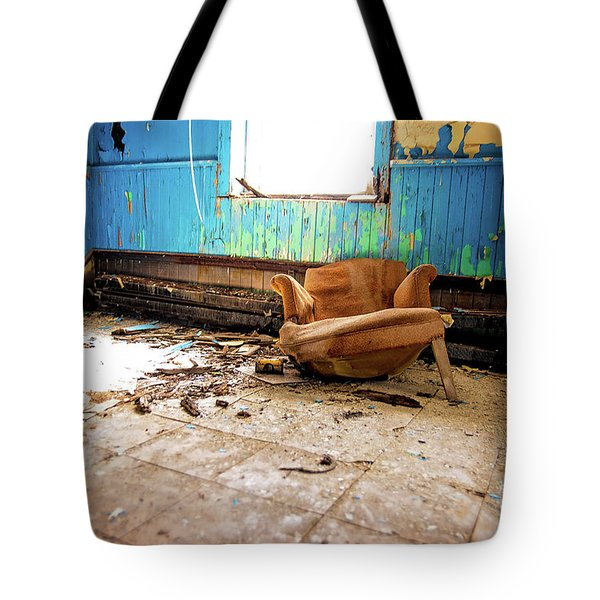 The Chair Tote Bag by Randall Cogle