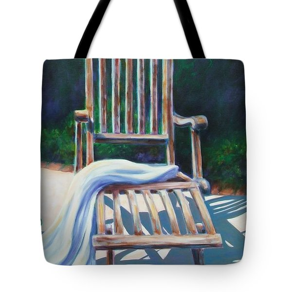 The Chair Tote Bag by Shannon Grissom