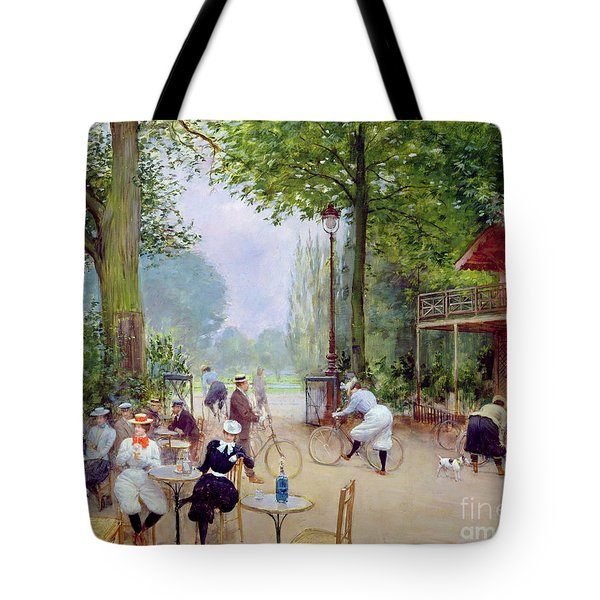 The Chalet Du Cycle In The Bois De Boulogne Tote Bag